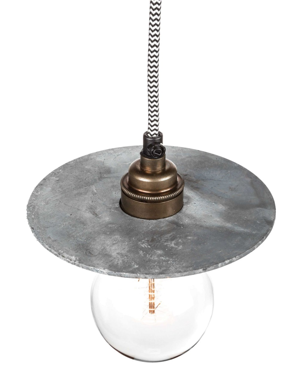 afb-factorylux-galvanised_disc_lamp_shade_150mm_3