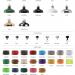 Afb factorylux reflector 190mm, keuze mogelijkheden