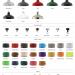 Afb factorylux reflector 500mm, keuze mogelijkheden