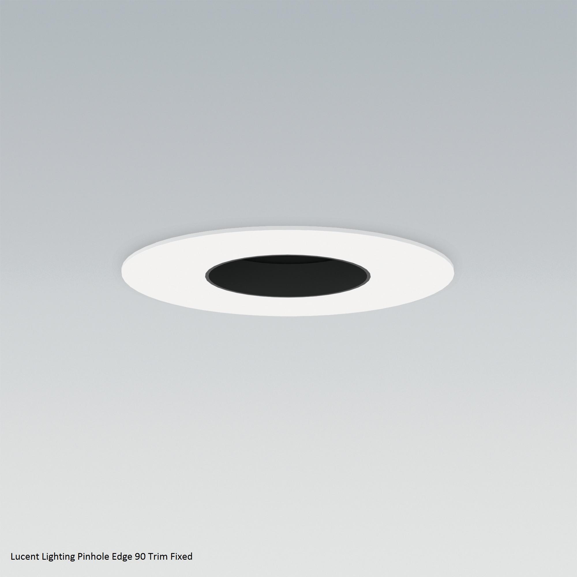 Lucent Lighting Pinhole Edge pinhole Edge 90 Trim Fixed