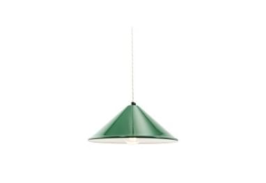 factorylux_cone_green_enamel_lamp_shade